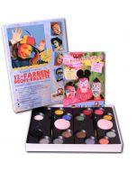 31113200 - Eulenspiegel - Profi Schminkfarben sind ideal für's Kinderschminken!