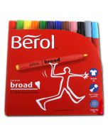31442000 - Berol Colour Broad Filzstifte in Top Kiga-Qualität