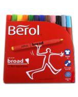 31442000 - Berol Colour Broad Filzstifte in Top Kiga-Qualität