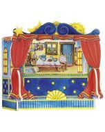 Fingerpuppen-Tisch-Theater