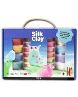 """Modelliermasse """"Silk Clay"""" Geschenk-Box (28 Dosen & Werkzeug)"""
