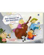 Bildkarten f. musikalisches Erzähltheater: Drei Chinesen mit dem Kontrabass