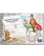 Sankt Martin ritt durch Schnee und Wind (Bildkarten für unser musikalisches Erzähltheater)