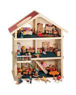 Puppenhaus Komplett-Set