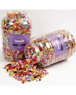 Kunststoffperlen Kiga-Pack