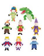 Kasper-Puppenset 8-teilig