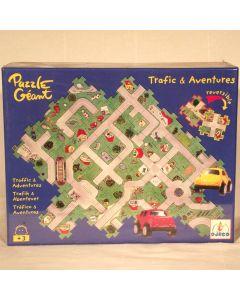 """Duo-Puzzle """"Verkehr"""""""