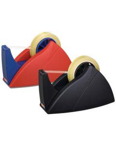 """Tischabroller """"Easy Cut""""® schwarz oder rot-blau"""