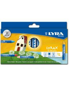 31212200 - Lyrax Wachsriesen 12er Set