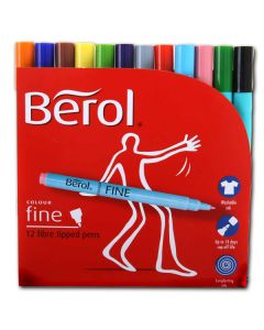 31441200 - Berol Colour Fine Filzstifte in Top Kiga-Qualität