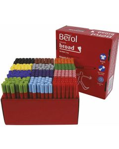 "Kiga-Pack Berol Colour ""Broad"" 288er Sortiment"