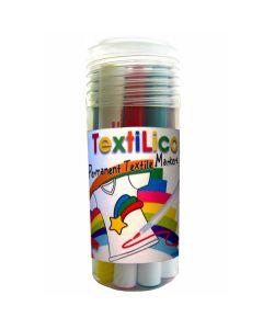 Textilico Permanentmarker 12er Set