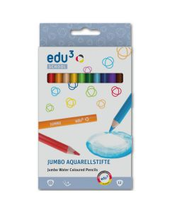 Buntstift Jumbo Aquarell 12er Set