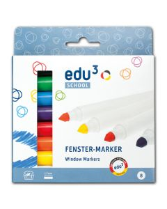 Fenstermaler edu3 8er Set