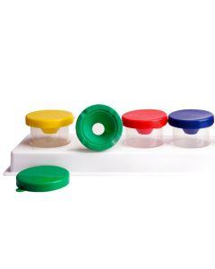 Farbenbecher 125 ml - Lieferung ohne Plastikständer