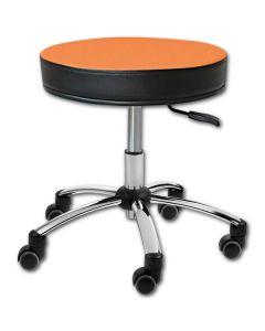 Sanus® Hocker 41-49 cm orange Kunstleder