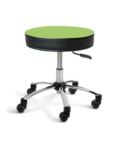 Sanus® Hocker 41-49 cm hellgrün Kunstleder