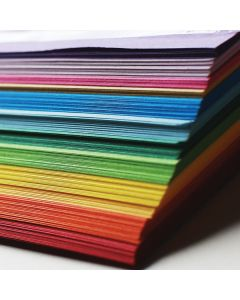 Tonpapier 130 g Sortiment klein