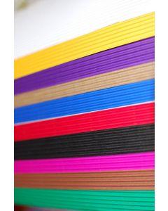 51107000 - Wellpappe in leuchtenden Farben