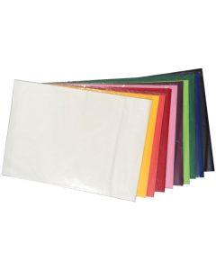 Seidenpapier Grundfarbensort.