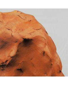 Lufttrocknender Ton terracotta