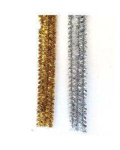 Pfeifenputzer 96er Sortiment metallic
