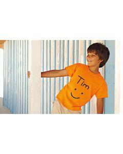 T-shirt Kinder - Gestaltungsbeispiel