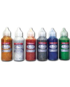 Glitter Glue 50 ml Sortiment groß