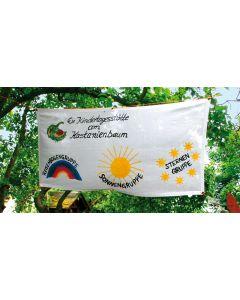 Baumwoll Banner zum Selbstgestalten