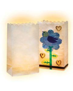Papier-Lichtertüten 5er Pack