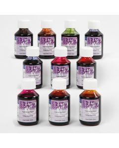 Batik-Farben Set