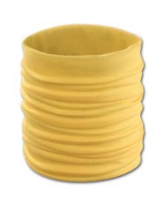 Erwachsenen-Rundschal gelb 5x