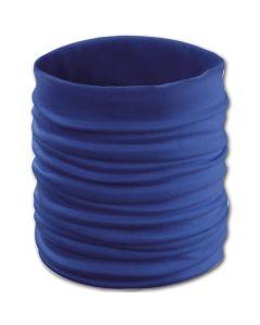 Erwachsenen-Rundschal blau 5x