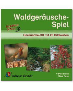 Waldgeräusche-Spiel (Geräusche-CD mit 28 Bildkarten)