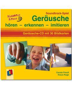 Soundtrack-Spiel: Geräusche (Geräusche-CD mit 30 Bildkarten)