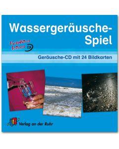 Wassergeräusche-Spiel (Geräusche-CD mit 24 Bildkarten)