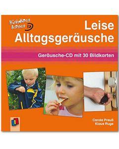 Leise Alltagsgeräusche (Geräusche-CD mit 30 Bildkarten)
