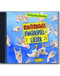Kunterbunte Fingerspiel-Lieder (CD)