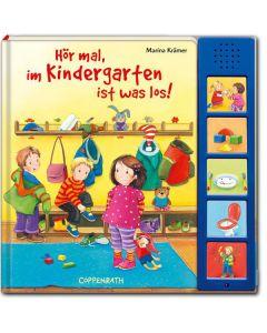 Hör mal, im Kindergarten ist was los! (mit Tonmodul)