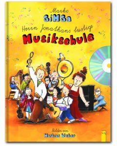 67305000 - Herrn Jonathans lustige Musikschule mit Audio-CD