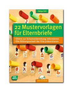 22 Mustervorlagen für Elternbriefe (inkl. CD-ROM)