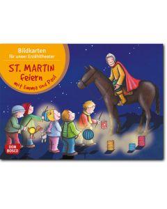St. Martin feiern mit Emma und Paul (Bildkarten für unser Erzähltheater)