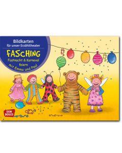 Fasching, Fastnacht & Karneval feiern mit Emma und Paul (Bildkarten für unser Erzähltheater)