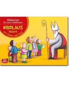 Nikolaus feiern mit Emma und Paul (Bildkarten für unser Erzähltheater)