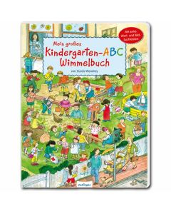 Mein großes Kindergarten-ABC-Wimmelbuch