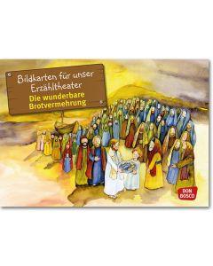 Die wunderbare Brotvermehrung (Bildkarten für unser Erzähltheater)