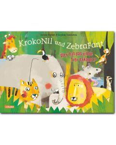 KrokoNil und ZebraFant - Wer hat das wilde Tier erkannt?