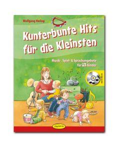 Kunterbunte Hits für die Kleinsten (inkl. CD)