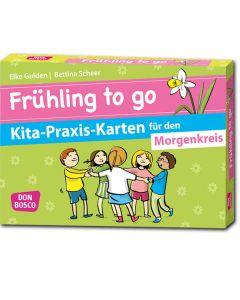 Frühling to go - Kita-Praxis-Karten für den Morgenkreis