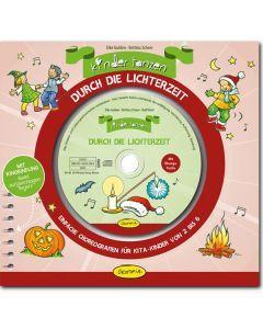 Kinder tanzen durch die Lichterzeit (inkl. CD)